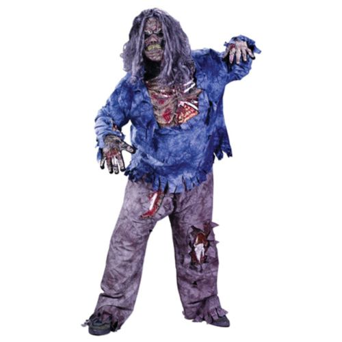Boys Complete Zombie Boys Costume for Halloween Fancy Dress Kids Childs
